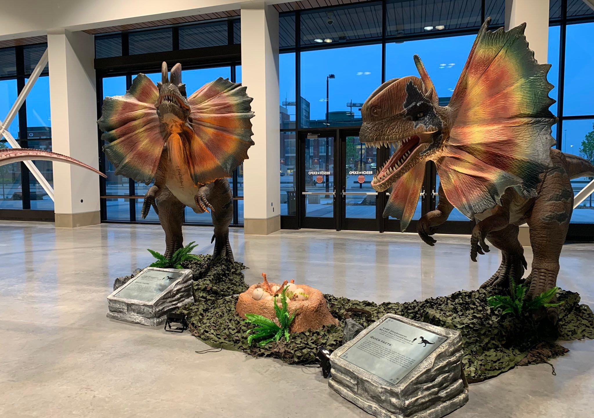 Dino Stroll Green Bay