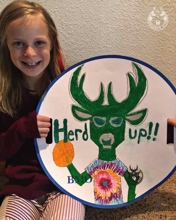 Megan Ott, Oakwood Elementary. (Courtesy: WI Herd)