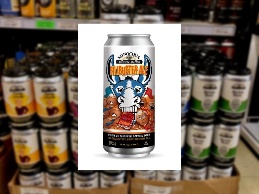 WI brewing company creates filibuster-themed beer, part of profits going to removing Sen. Johnson from office