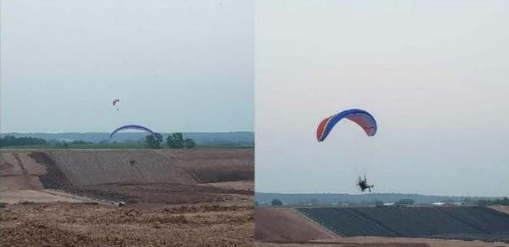 'No-fly zone': Brown Co. Sheriff looking to identify trespassing paragliders