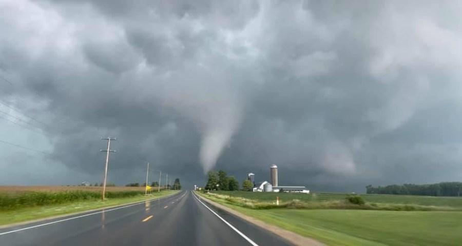 Tornado in Pulaski
