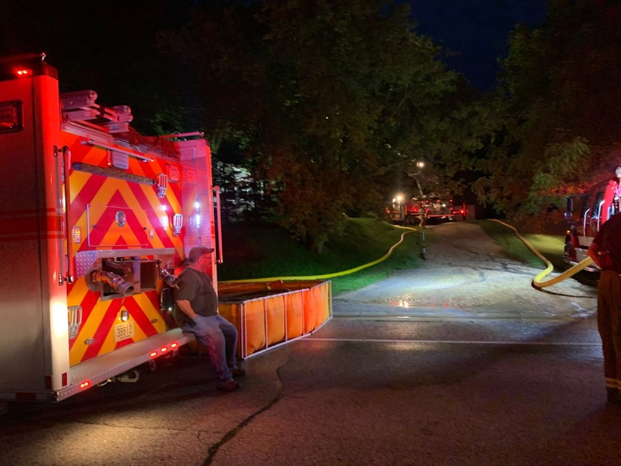 House fire closes both directions of WIS 29 in Kewaunee