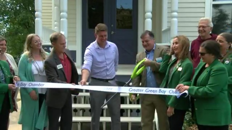 Ribbon gets cut for newly-restored home at Jackie Nitschke Center