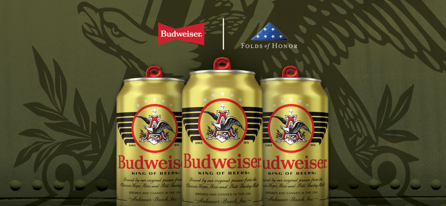 Budweiser launches limited-edition military cans for Veterans Day