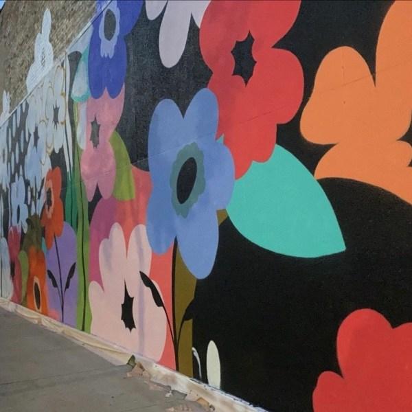 Downtown Oshkosh mural