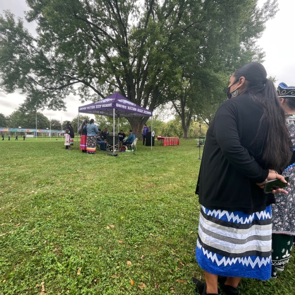 Oneida Nation celebrated Indigenous Peoples' Day on Oct. 11, 2021. (WFRV)