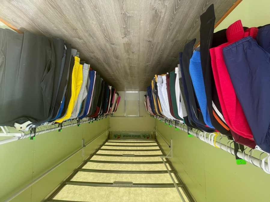A $50,000 grant will help the Community Clothes Closet in Menasha stock its new mobile closet with clothing. (WFRV)
